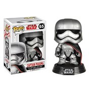 Star Wars: Last Jedi Captain Phasma Pop! Bobble Head #65