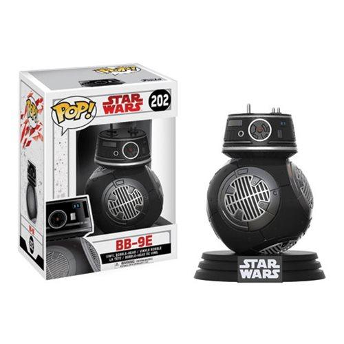 Star Wars: The Last Jedi BB-9E Pop! Vinyl Bobble Head #202