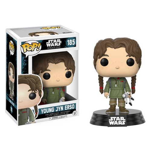 Rogue One Young Jyn Erso Pop! Bobble Head, Not Mint