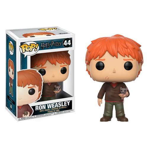 Harry Potter Ron Weasley with Scabbers Pop! Vinyl Figure #44