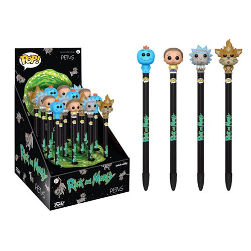 Rick and Morty Series 1 Pop! Pen Display Case