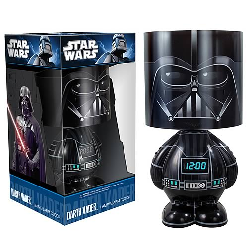 Star Wars Darth Vader Lamp Clock and MP3 Dock