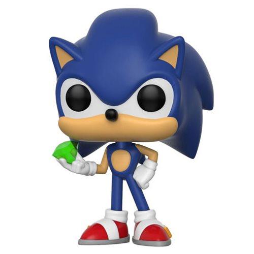 Sonic the Hedgehog with Emerald Pop! Vinyl Figure
