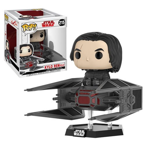 Star Wars TLJ Kylo Ren in TIE Fighter Pop! Vinyl Bobble #215