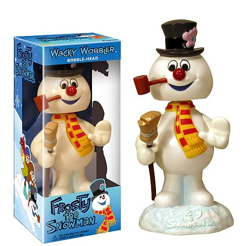 Frosty the Snowman Bobble Head