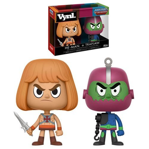 Masters of the Universe He-Man and Trap Jaw VYNL 2-Pack