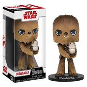 Star Wars: The Last Jedi Chewbacca Wobbler Bobble Head