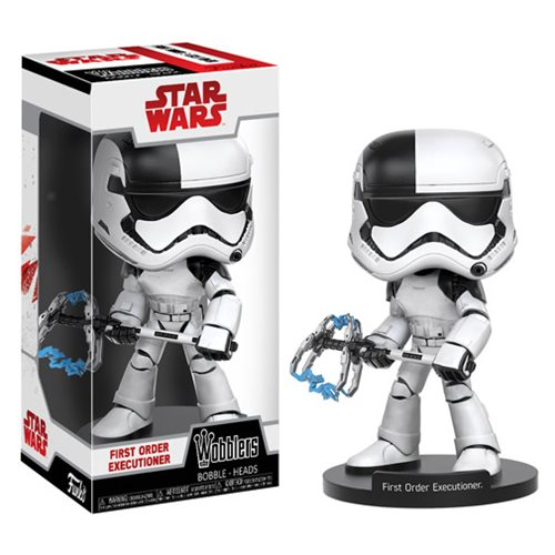 Star Wars: The Last Jedi First Order Executioner Bobble Head