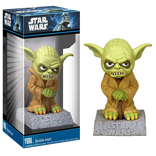 Yoda Gargoyle Monster Mash-Ups Mini Star Wars Bobble Head