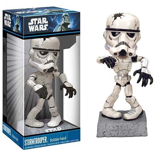 Stormtrooper Skeleton Monster Mini Star Wars Bobble Head