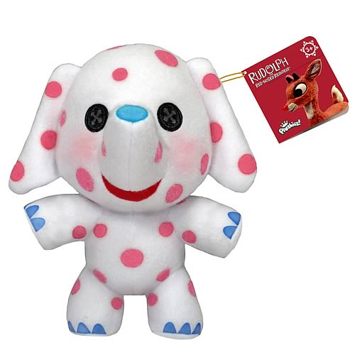 Rudolph the Red Nosed Reindeer Spotted Elephant Plush