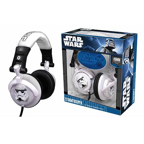 Star Wars Stormtrooper DJ Headphones
