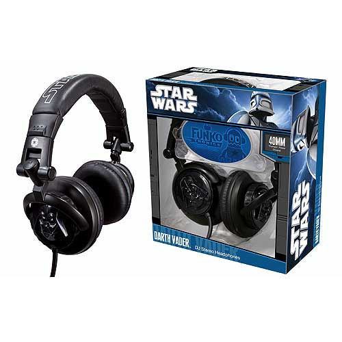 Star Wars Darth Vader DJ Headphones