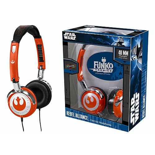Star Wars Rebel Alliance Fold-Up Headphones