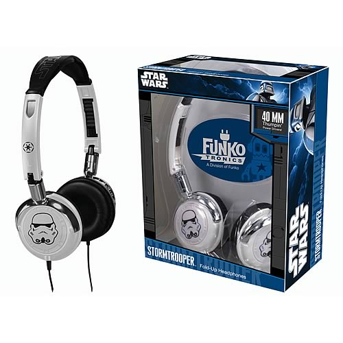 Star Wars Stormtrooper Fold Up Headphones