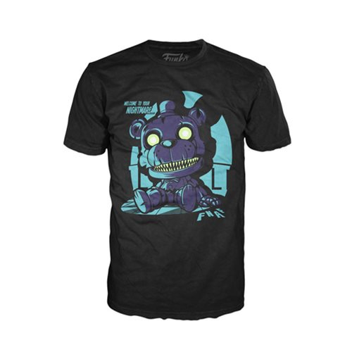 Five Nights at Freddy's Nightmare Freddy Pop! T-Shirt