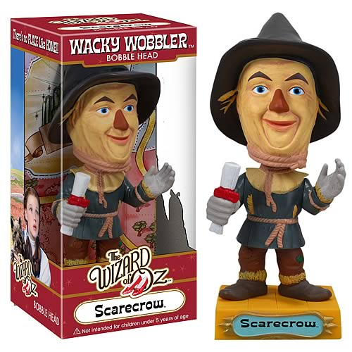 Wizard of Oz Scarecrow Bobble Head