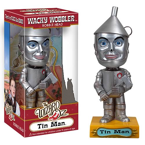 Wizard of Oz Tin Man Bobble Head