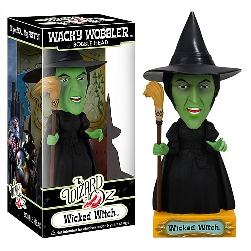 Wizard of Oz Wicked Witch of the West Bobble Head