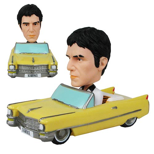 Scarface Bobble Head Vehicle