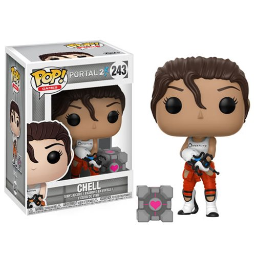 Portal Chell with Portal Gun Pop! Vinyl Figure #243