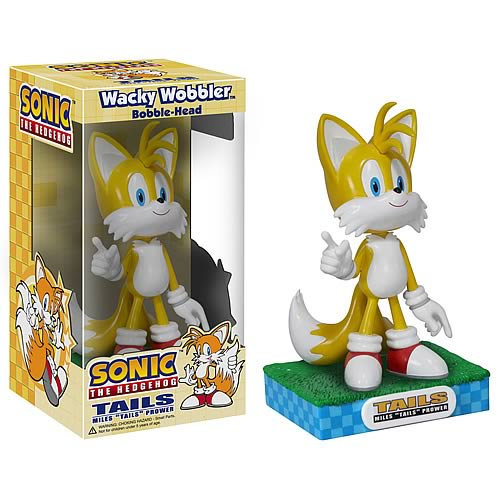 Sonic the Hedgehog Tails Bobble Head