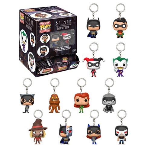 Batman TAS Pocket Pop! Key Chain Random 4-Pack