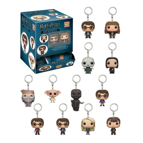 Harry Potter Pocket Pop! Key Chain Random 4-Pack