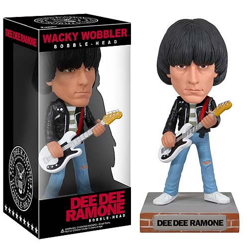 Ramones Dee Dee Ramone Wacky Wobbler Bobble Head