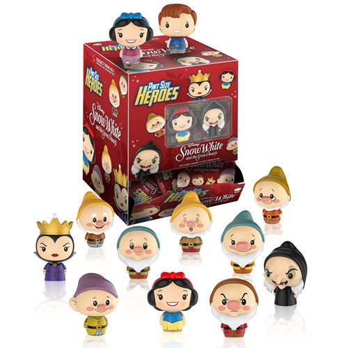 Snow White Pint Size Heroes Mini-Figure Display Case