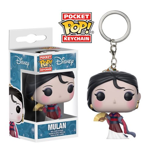 Mulan Pocket Pop! Key Chain