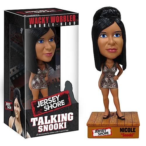 Jersey Shore Nicole Snooki Talking Bobble Head