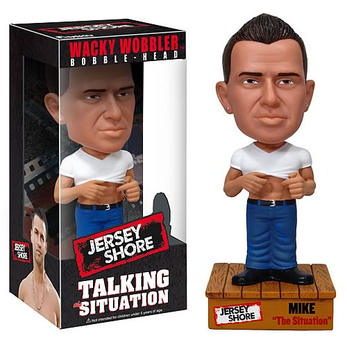 Jersey Shore Mike The Situation Talking Bobble Head