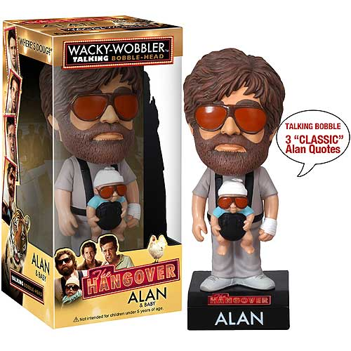The Hangover Alan with Baby Talking Bobble Head