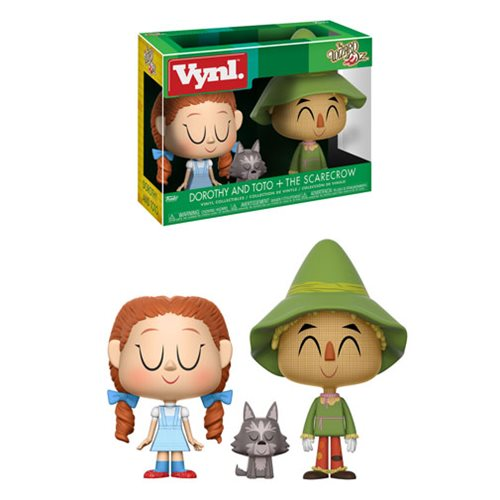 Wizard_of_Oz_Dorothy_and_Scarecrow_Vynl_Figure_2Pack