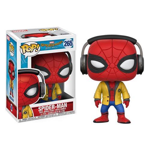 Spider-Man: Homecoming with Headphones Pop! Vinyl #265