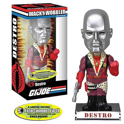 G.I. Joe Pimp Daddy Destro Bobble Head - EE Exclusive