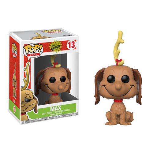 Dr. Seuss The Grinch Max the Dog Pop! Vinyl Figure