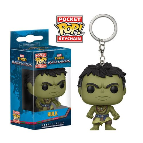 Thor Ragnarok Casual Hulk Pocket Pop! Key Chain