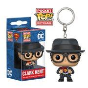Superman Clark Kent Pocket Pop! Key Chain