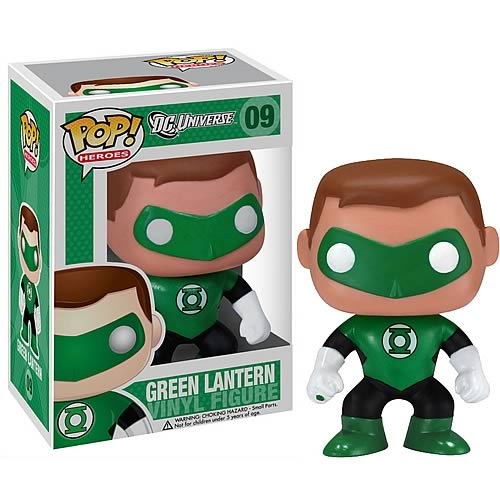 Green Lantern Pop! Heroes Vinyl Figure