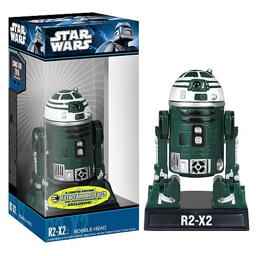 Star Wars R2-X2 Droid Bobble Head - EE Exclusive