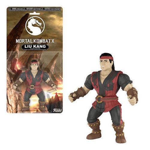 Mortal Kombat Liu Kang Action Figure, Not Mint