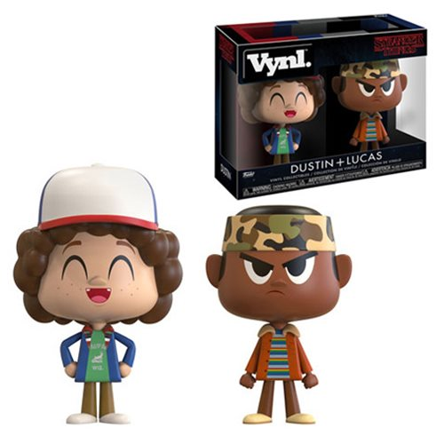 Stranger Things Lucas and Dustin Vynl. Figure 2-Pack