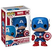 Captain America Marvel Pop! Vinyl Bobble Head