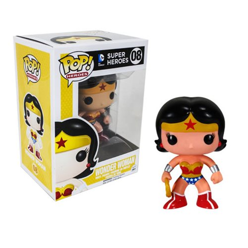 Wonder Woman Pop Heroes Vinyl Figure Funko Wonder