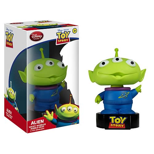 Toy Story Alien Talking Bobble Head