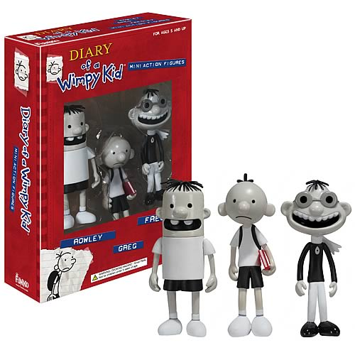 Diary of a Wimpy Kid Action Figure Set