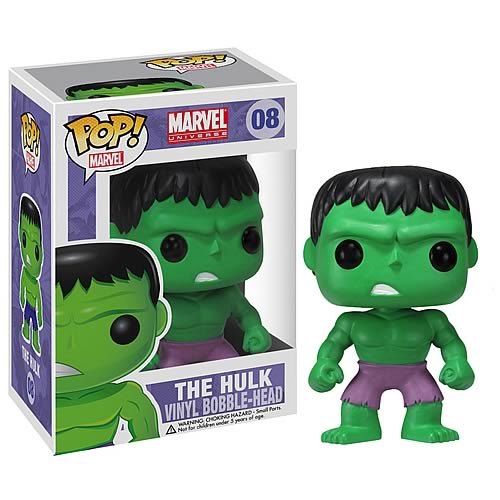 Incredible Hulk Marvel Pop! Vinyl Bobble Head