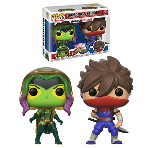 Marvel vs. Capcom vs. Gamora vs. Strider